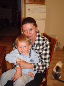 Beata Wawrzyn z synkiem (2)