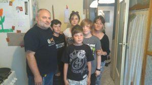 Krystyna Sobiesierska-Radtke z rodziną (2)