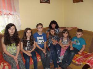 Marzena Romaniuk z rodziną (2)