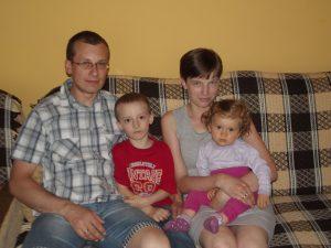 Roman Sacawicz z rodziną (2)
