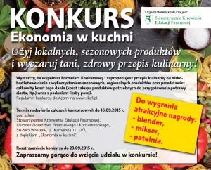 plakat Ekonomia w kuchni 2