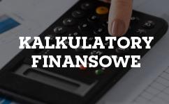 Kalkulatory finansowe